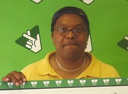Donnie Taylor of Lynchburg claimed his $1 million Tuesday.